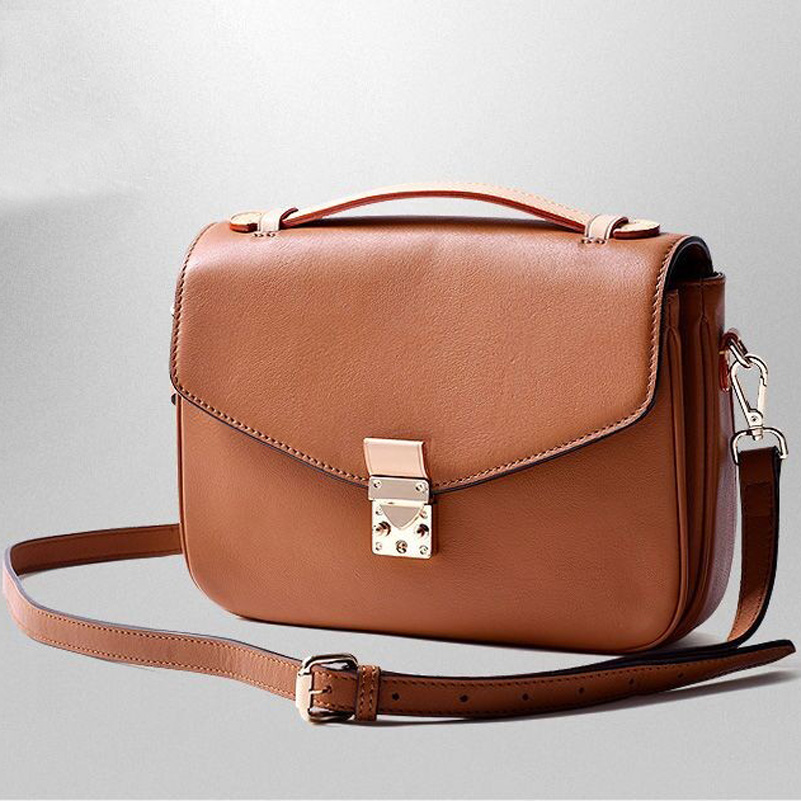 цена на Free shipping DHL women luxury handbag High Quality messager bag monogram canvas Metis handbag brand design shoulder bag
