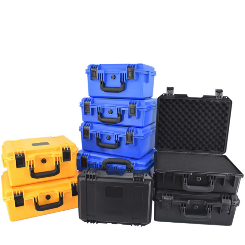 Instrumentation Equipment Safety Protection Box Multi-function Tool Box Plastic Portable Outdoor Waterproof Shockproof Case