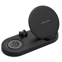 iToncs Fast Wireless Charger Dock Station For iwatch Apple Watch 4 3 2 Airpods iPhone X XS Max XR 8 Plus QI Fast Charge Docking