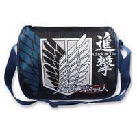 Unisex pu leather kolorowe drukowanie totoro/dragon ball/atak na titan cosplay torba na ramię torby szkolne