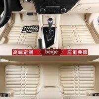Pu Leather Floor Mats Car Interior Items For Ford Focus 2 Mondeo Ecosport Escort Fiesta Exploror