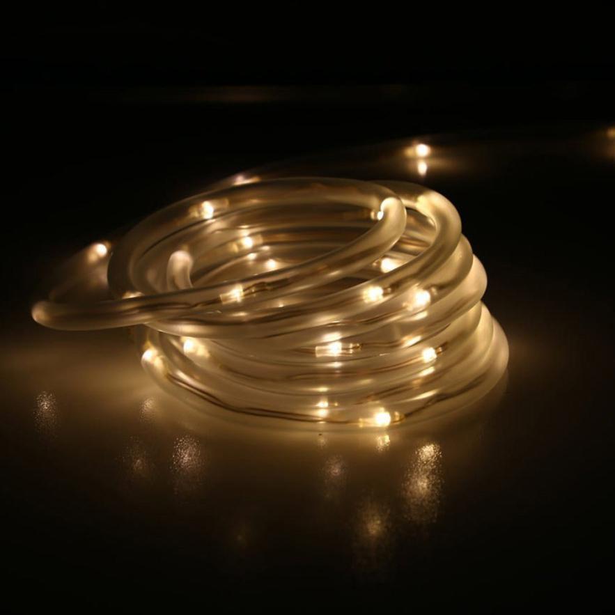 2017 Новый 7 м 50LED Солнечная Радуга свет пробки строка Рождество Свадебная вечеринка у ...