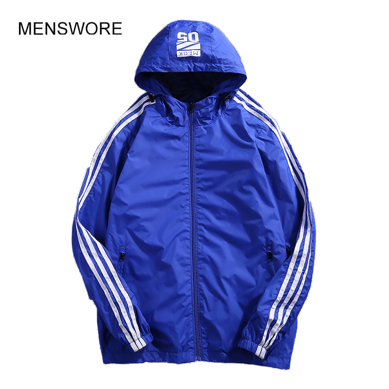 MENSWORE New Brand Autumn Men Jacket Pure color Casual Hooded Outwear Men Long Sleeve Mens Jacke 1801 ...