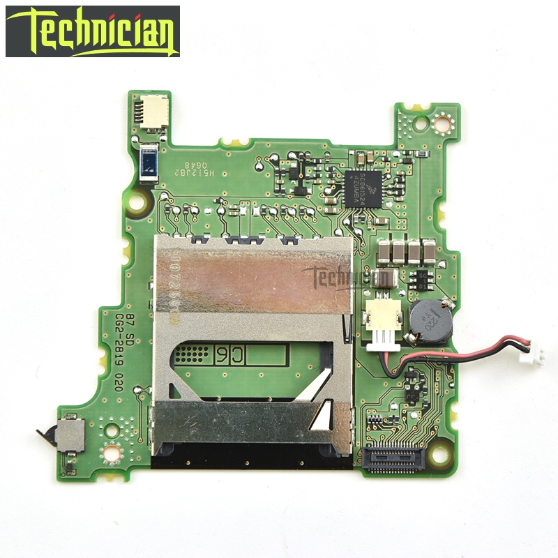 60D SD Memory Card Board Camera Replacement Parts For Canon