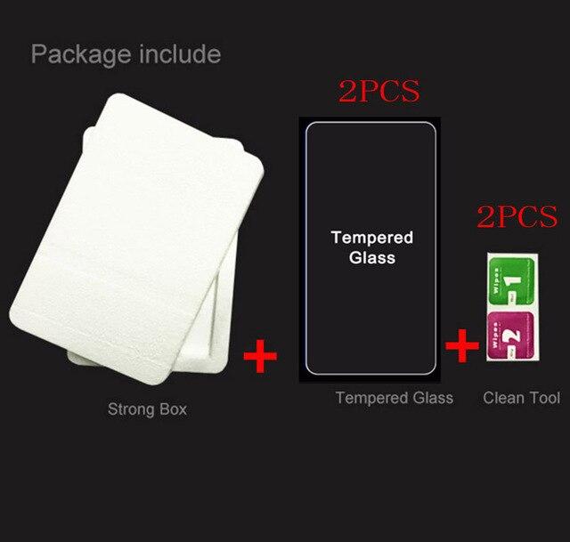 2 sztuk Smartphone szkło hartowane 9 H przeciwwybuchowa folia ochronna osłona wyświetlacza urządzenia mobilnego telefonu dla Ulefone Power 5 5S POWER5