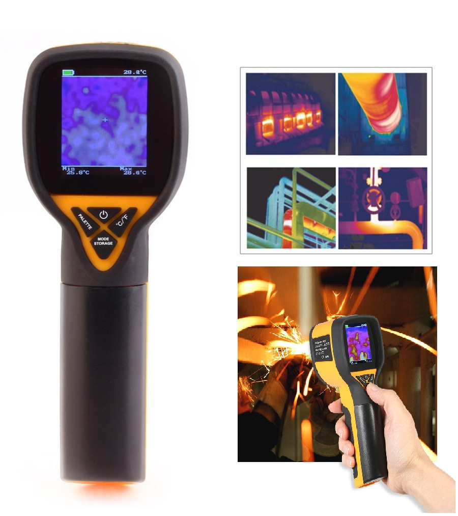 -20 to 300 Celsius High HT-175 Univeral Infrared Thermal Imaging Camera 1024P 32x32 IR Image Resolution Digital Thermal Imager image