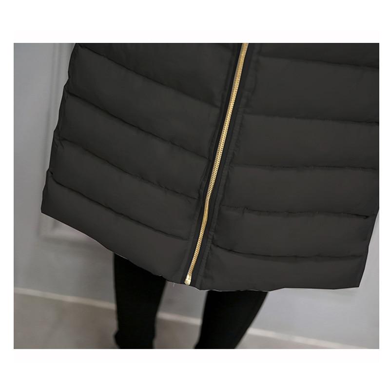Cămașă de iarnă caldă pentru femei Vestă lungă pentru femei, - Îmbrăcăminte femei - Fotografie 6
