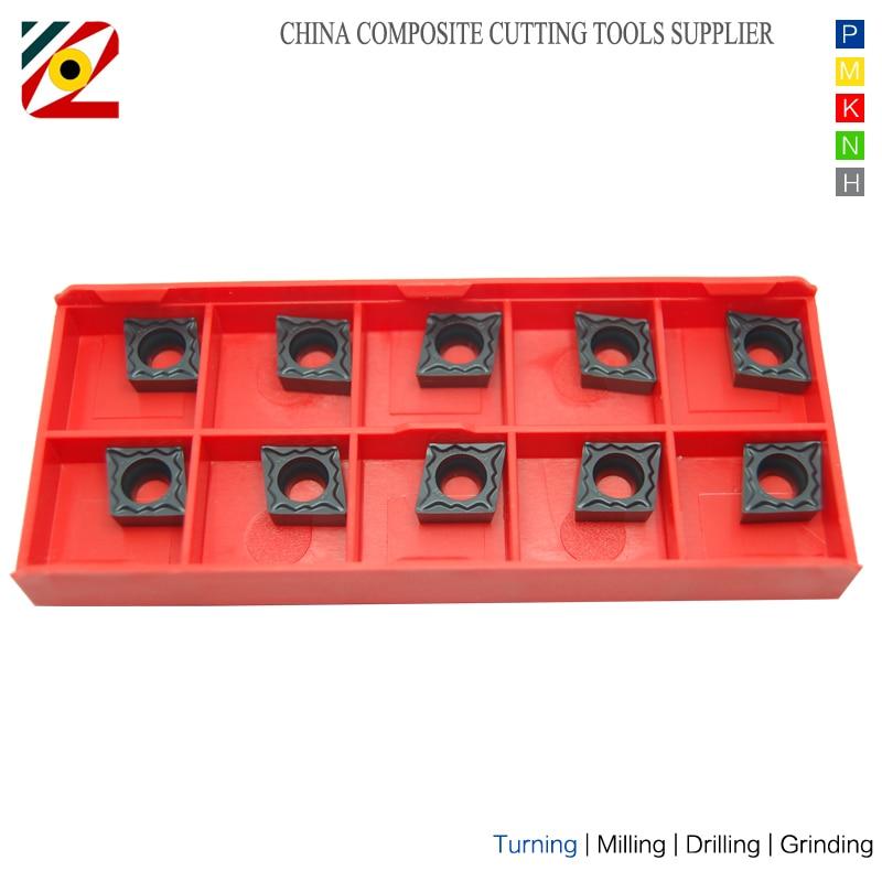 Płytki z węglików spiekanych EDGEV CNC 10szt. CCMT09T304 - Obrabiarki i akcesoria - Zdjęcie 3
