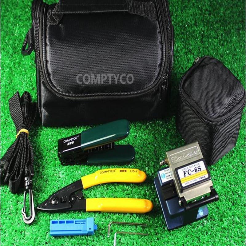 Fibre Optic Cold Contact Werkzeugset Fibre Cleaver + Abisolierzange + - Kommunikationsausrüstung