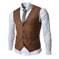 Vest 2016 new men's suit vest men's suit men's suit vest men's suit vest casual sleeveless dress business jackets