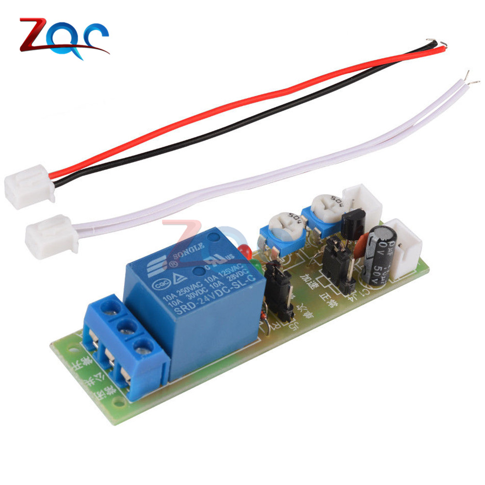 Ws16 Dc 12v 30a Multifunction Adjustable Delay Timing Turn On Off The Polarity Control Relay Is Switched When Q1 Covered By Cycle Timer Switch Module 5v 24v 15min