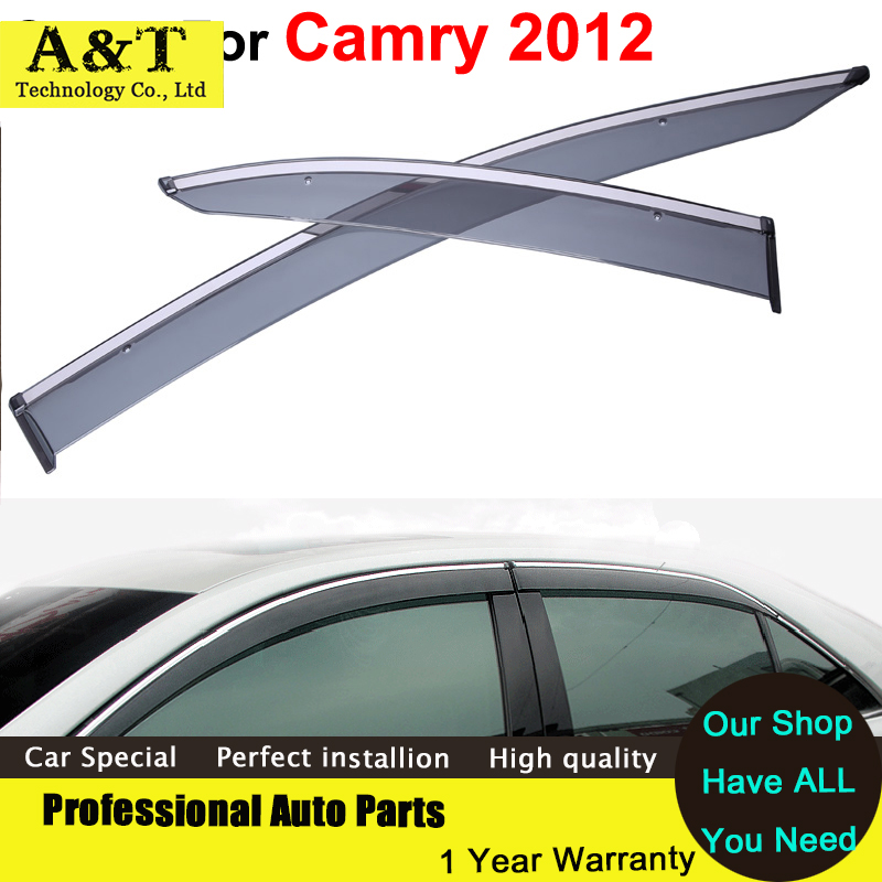 Windows visor car styling Vent Rain Sun Shield Window Visor For Toyota Camry 2012 2013 2014