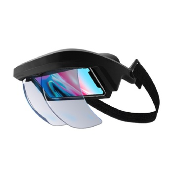 New Design Smart AR Glasses 3D Video Augmented Reality VR Glasses AR Headset For 3D Videos And Games mobile phone