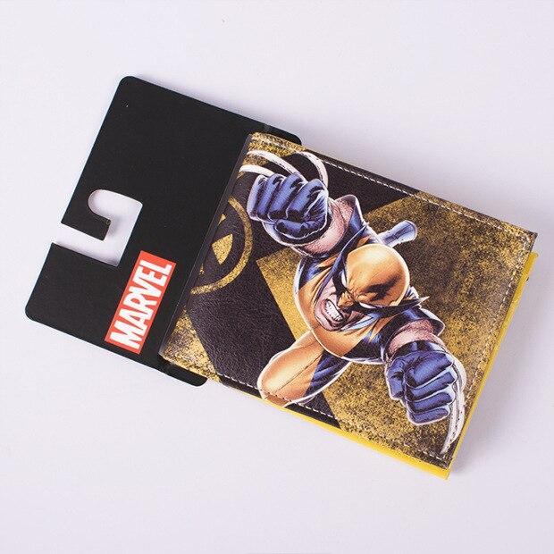 2015 Marvel Avengers Serie Wallet Männer Frauen Dollar Preis Cartoon Geldbörse Geld Taschen Pvc Leder Brieftaschen Elegant Im Geruch