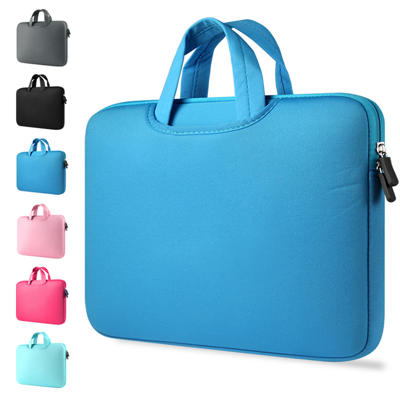 Free Shipping 11 13.3 15 15.6 inch Laptop Sleeve Case Handbag Pouch For Macbook Air Pro Retina Ultrabook Tablet Notebook bag.