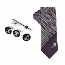 Jw.org erkek kravat ve kravat klipsi ve kol düğmeleri ve Pin seti