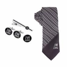 Jw.org גברים עניבה קליפ עניבה וחפת וסיכה סט