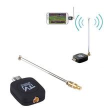 Высокое качество micro usb тюнер dvb-t mobile tv приемник придерживайтесь для android tablet pad телефон продвижение