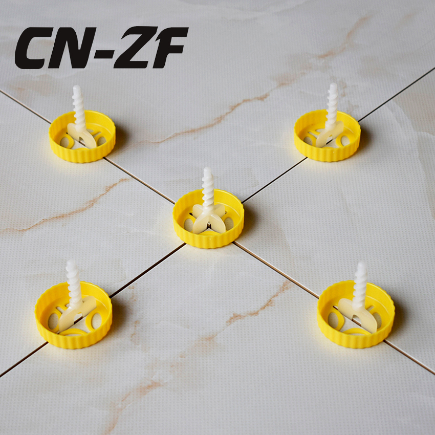 Tile Leveling System 50pcs Caps Floor Wall Building Flat Leveler ...
