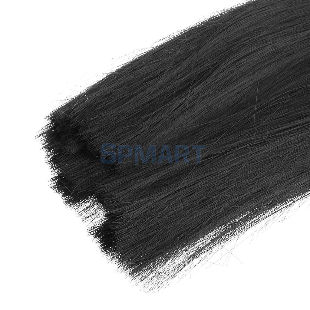 Black Long Straight Hair Wig Hairpiece for 1/6 BJD SD Dolls ...