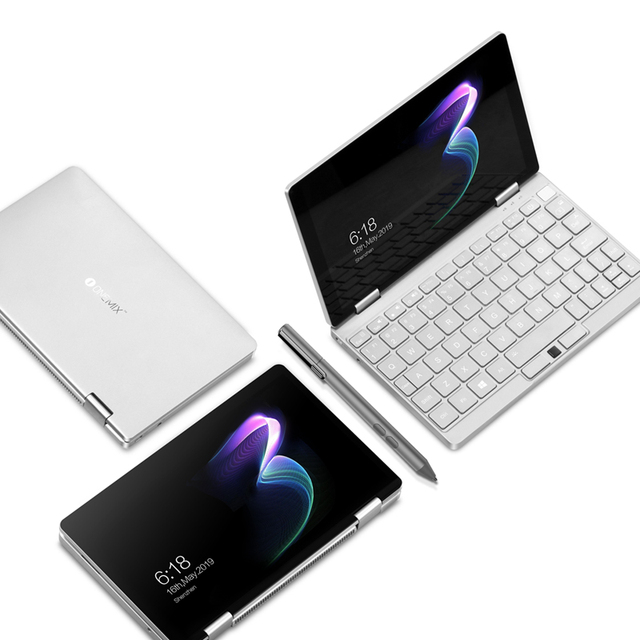 """One Netbook 8.4"""" One Mix 3 Tablet PC IPS Screen Intel Core M3-8100Y  8GB +256GB Backlit Keyboard Windows 10 licence bluetooth 1"""
