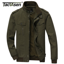 TACVASEN 2017 Men Army Soldier Jacket Air Force Military jacket Male Plus Size Casual jacket Coats Men's Autumn Coat TD-QZQQ-004(China)