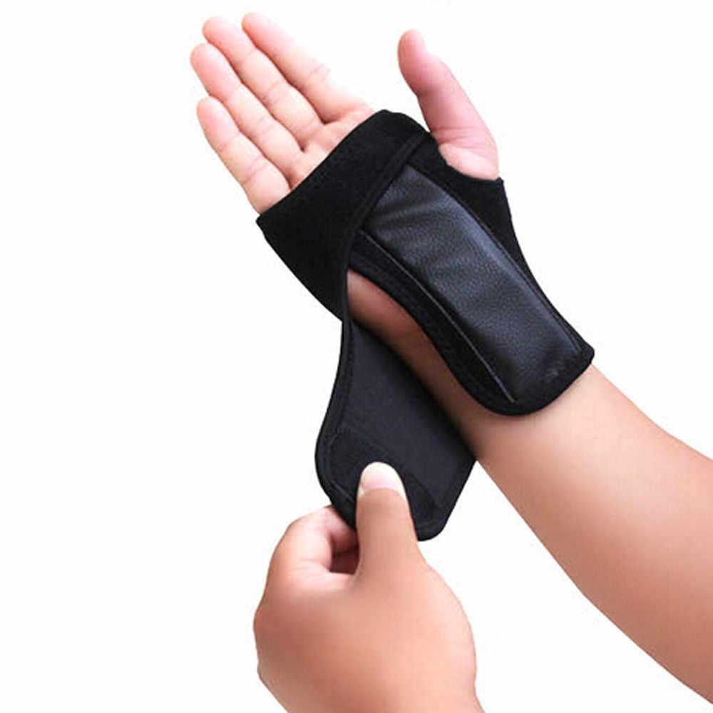 Браслета на запястье руку пальцев замок баскетбол запястье в едином положении во время занятий теннис наружный спортивный защитник мягкие и удобные спортивные безопасностные # y50