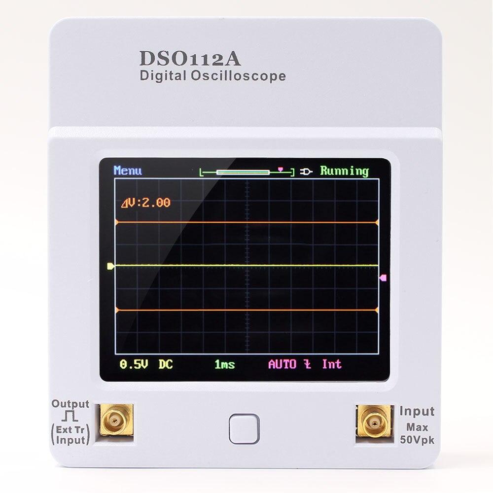 DSO 112A TFT Mini Digital Oscilloscope Touch Screen Portable USB Oscilloscope Interface 2MHz 5Msps цена и фото