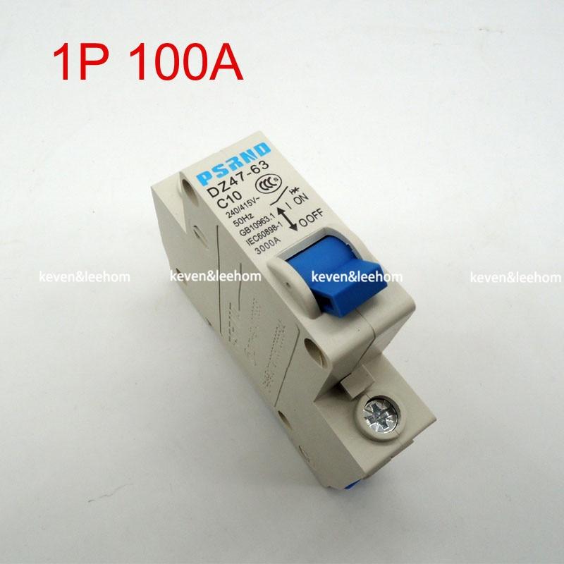 Aliexpress.com : Buy DZ47 1P 100A AC 230V 400V Circuit