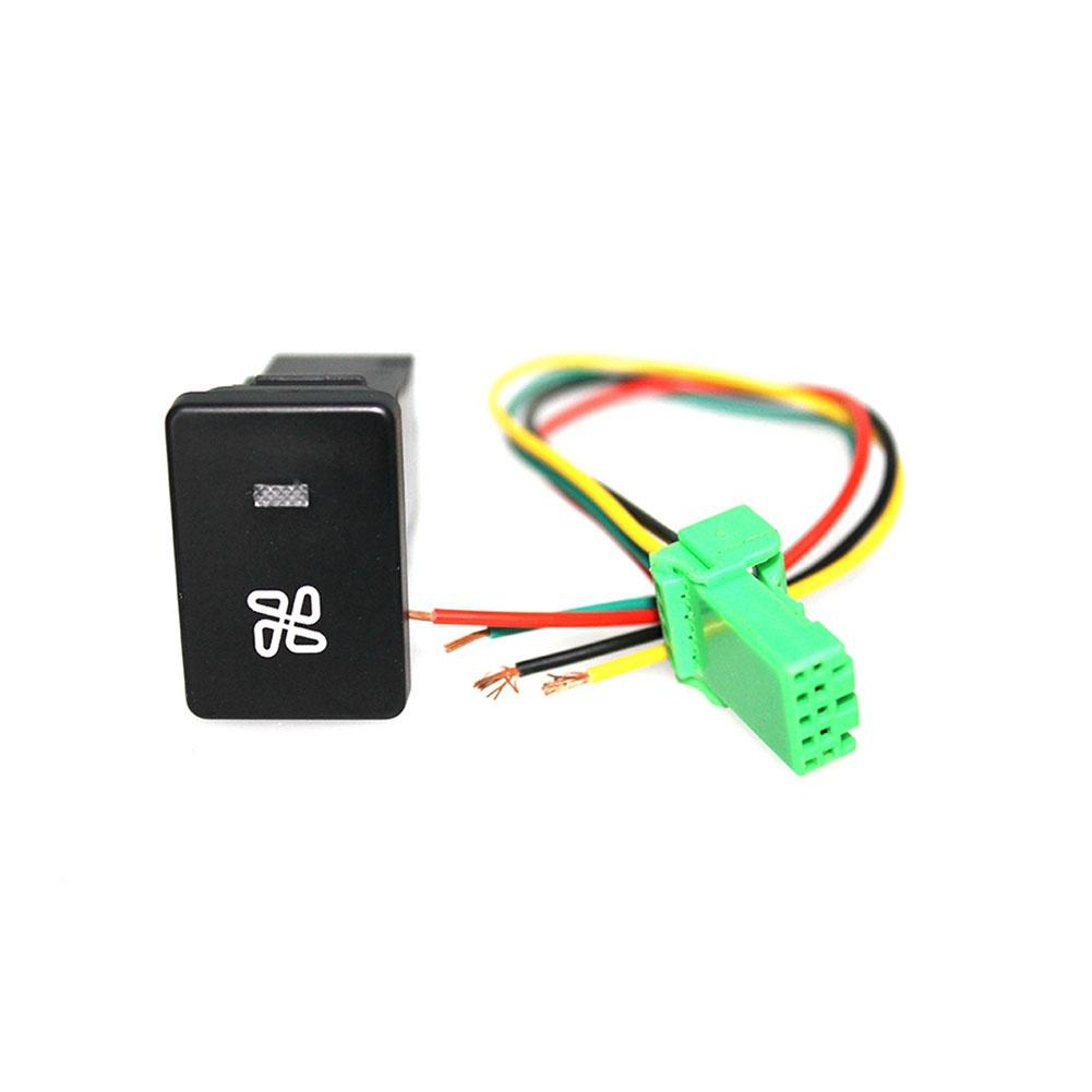 Buy Lumiparty Fog Light Led Drl Fan Pattern Switch Wiring Button With 120mm Wire For Toyota Liner30 From
