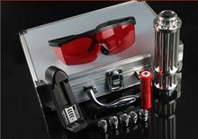 Best price High Power Military 100000mW 100W 532nm Green Laser Pointer Flashlight Focus Burning Match,Burn Cigarettes,Pop Balloon+Glasses