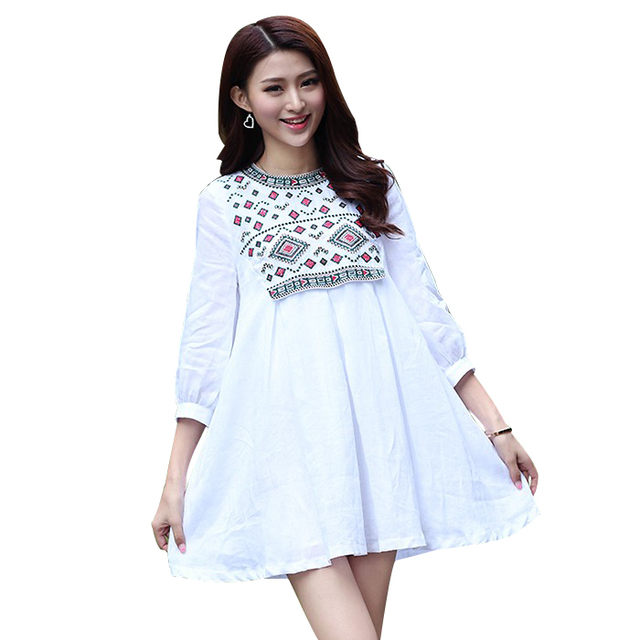 6fed0752f2568 Maternity Shirts Novelty Blouses Pregnancy Clothes Cotton Maternity Clothing  Of Pregnant Women Premama Tops Shirts White