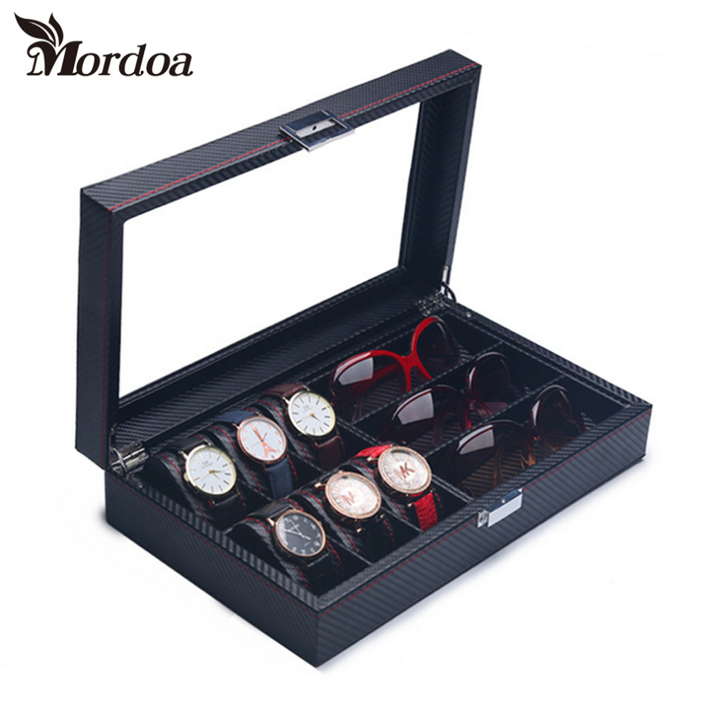 Top Grade Jewelry Box Casket Storage Box For Jewelry Exquisite Watch And Eyewear Dual Purpose Jewelry DIsplay OrganizerTop Grade Jewelry Box Casket Storage Box For Jewelry Exquisite Watch And Eyewear Dual Purpose Jewelry DIsplay Organizer