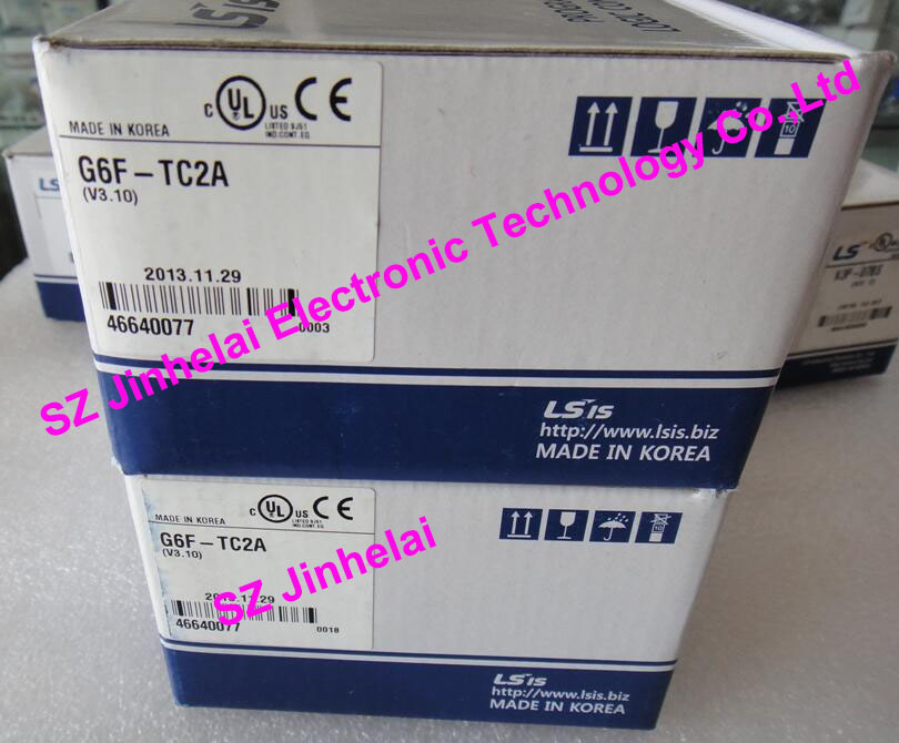 100% New and original  G6F-TC2A  LS(LG)  PLC controller,Thermocouple Input Module 100% new and original g6l eufb ls lg plc communication module e net open type fiber optic