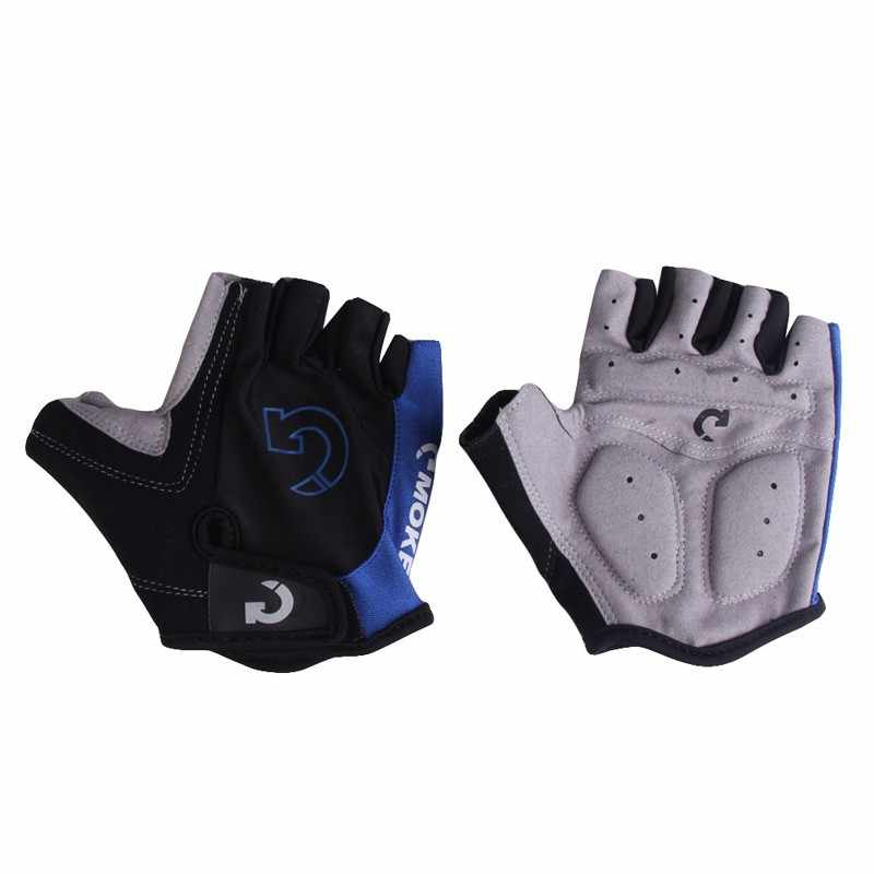 1 paar Halb Finger Radfahren Handschuhe Anti-Slip Anti-schweiß Gel Fahrrad Reiten Handschuhe Anti Schock MTB Road mountainbike Sport Handschuhe