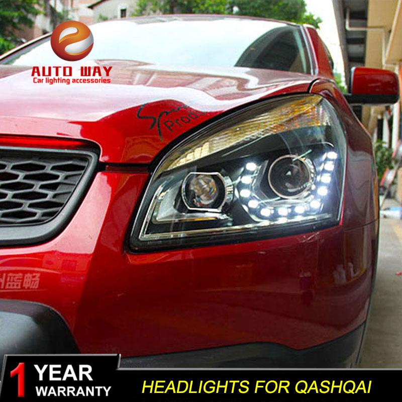 Nissan Qashqai fənərləri üçün avtomobil dizaynı üçün işıq - Avtomobil işıqları - Fotoqrafiya 1