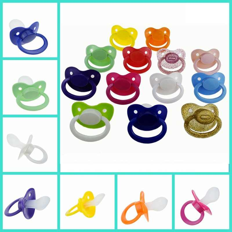 2018 Fashion Custom Big Size Silicone Adult Pacifier