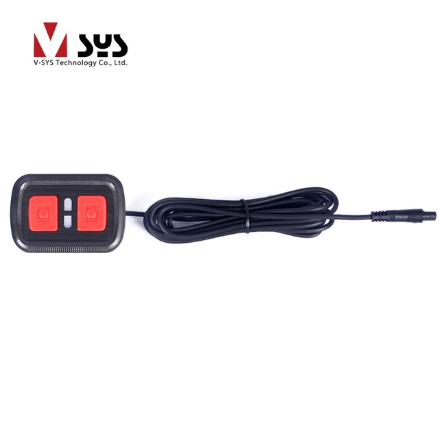 SYS Wired Remote Controller for Motorcycle DVR C6 / M6L-WIFI/ M6 / M1 / m2f / X1V