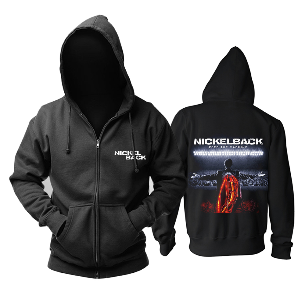 Bloodhoof Nickelback โลหะ Rock แฟชั่น Heavy Metal hoodie ขนาดเอเชีย-ใน เสื้อฮู้ดและเสื้อกันหนาว จาก เสื้อผ้าผู้ชาย บน AliExpress - 11.11_สิบเอ็ด สิบเอ็ดวันคนโสด 1