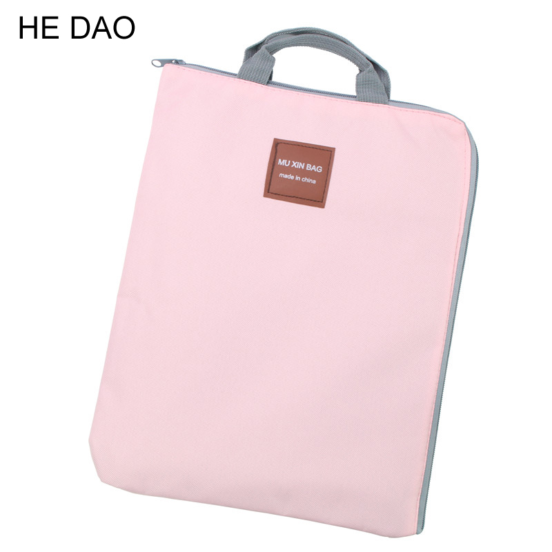 Korean Simple Solid A4 Big Capacity Document Bag Business Briefcase Storage File Folder For Papers Stationery Student Gift simple solid a4 big capacity document bag business briefcase storage file folder for papers stationery student gift
