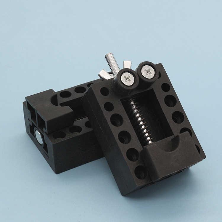 Haute résistance ABS montre housse arrière ouvre-porte dissolvant outil de réparation Vice emplacement outil de réparation Mini banc pince