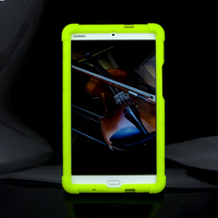 MingShore Silicone Tablet Case For HAUWEI M3 BTV W09 DL09 8 4Inch Tablet For HUAWEI M3