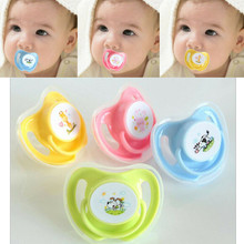 Lovely Baby Kids Newborn Pacifier Nipples Teeth Silicone Orthodontic Dummy Teat Soother Bebe Cute Cartoon Pacifier Dental Care(China)