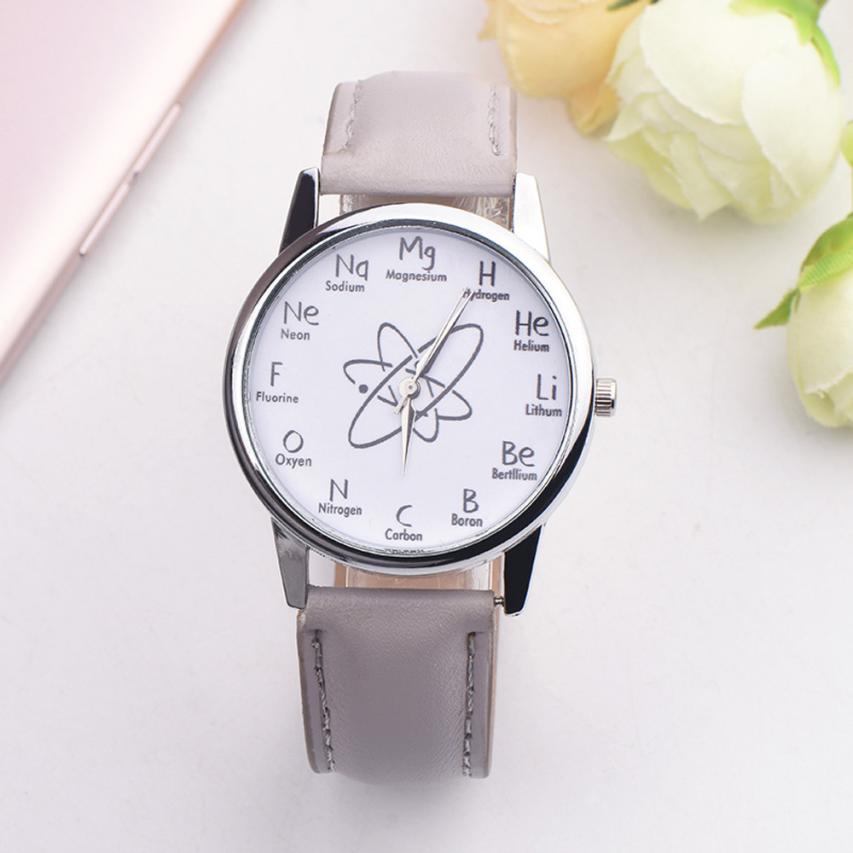 JINEN Fashion New Women Leather Strap watches Casual Analog Quartz Watches Business Elegant Round Wristwatch (SELL IN BULK 100)