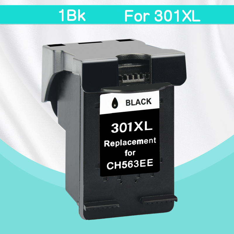 CMYK SUPPLIES 1 Black Ink Cartridge compatible for HP 301 301XL INK DeskJet 1050 2050 3050 2150 1510 2540 printer full ink by dhl or ems 50 pieces handheld metal detector tx 2002 of portable super scanner sensitivity super scanner tool finder