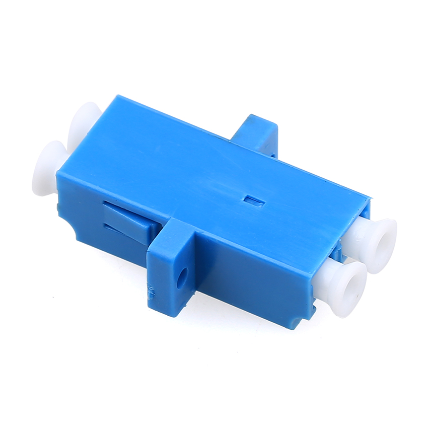 Image 4 - 100pcs Fiber Optic Adapter LC UPC Singlemode Duplex SM Adaptor Coupler LC/UPC-in Fiber Optic Equipments from Cellphones & Telecommunications