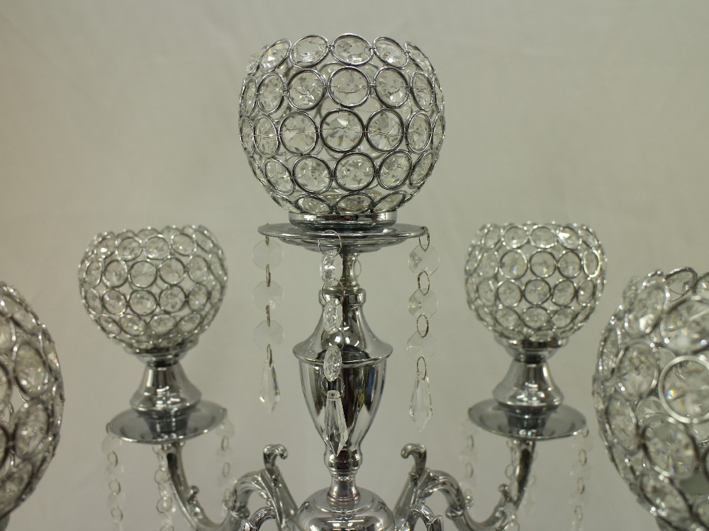 74cm H Wedding Crystal Table Centerpiece Chandelier Candle Holder Decoration Banquet Supply In Holders From Home