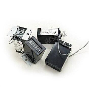 100 sztuk/partia 6 cyfr zręcznościowe monety licznik długości 12 V 18 sztuk mechaniczny licznik kaseta licznik dla automat do gry huśtawka maszyny