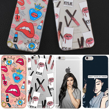 Phone Case Capa For ipohne 5 5s 5se Case Cover Soft TPU Sexy Phone Bags Funda For iphone 6 6s 4.7'' 7 8 Case Ultra Thin Shell(China)