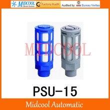 Plastic silencer muffler PSU-15 thread 1/2″ PSU type plastic timing muffler air connector pneumatic